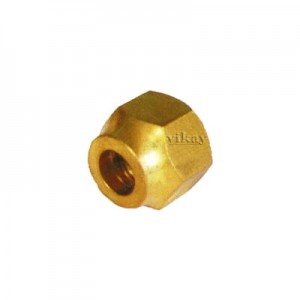 "Brass Flare Nut Short Neck 5/16""  - FNS516"
