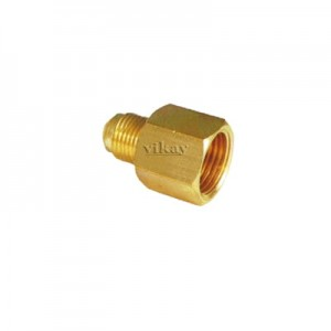"Brass Gauge Adaptor 1/4"" x 3/8""  - GA1438"