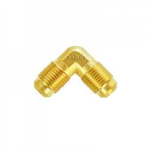 "Brass Double End Flare Elbow 1/4"" x 1/4""  - DFE14"