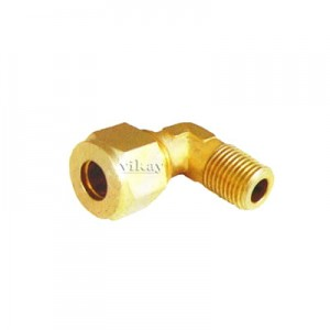 "Brass Connector Elbow Male Assembly 1/4"" x 3/8""  - CEMA1438"