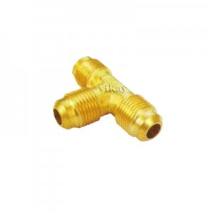 "Brass Triple End Flare Tee  1/4""  - TFT14"