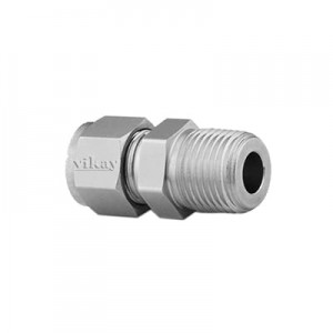 "Male Connector 3/8"" x 3/8"" - 6MCD6Nx4"
