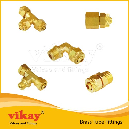 00. Brass Tube Fittings - Brass2