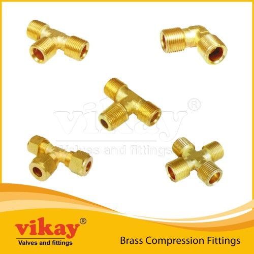 00. Brass Compression Fittings - Brass1